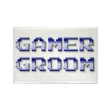 Gamer Groom Rectangle Magnet
