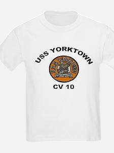 USS Yorktown CVA 10 T-Shirt
