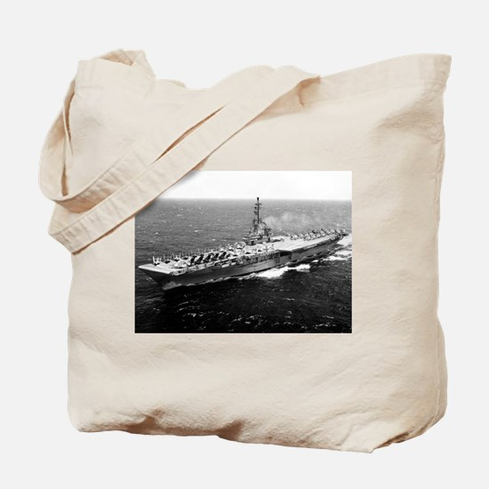 USS Yorktown Ship's Image Tote Bag