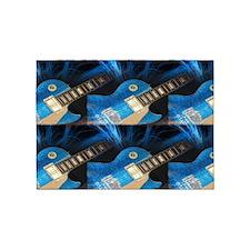 Electric Guitar 5'x7'Area Rug