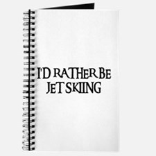 I'D RATHER BE JET SKIING Journal