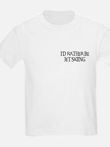 I'D RATHER BE JET SKIING Kids T-Shirt