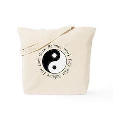 Balance Yin Yang Tote Bag
