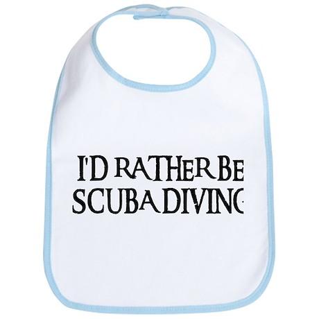 I'D RATHER BE SCUBA DIVING Bib