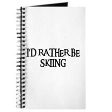 I'D RATHER BE SKIING Journal