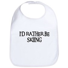 I'D RATHER BE SKIING Bib