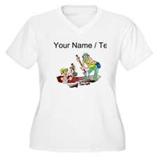 Custom Archaeologists Plus Size T-Shirt