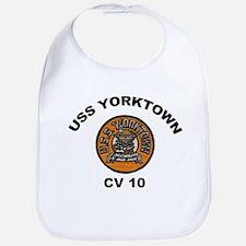 USS Yorktown CV 10 Bib