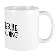 I'D RATHER BE SNOWBOARDING Mug
