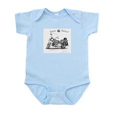 Biker Babe wear -Infant Creeper