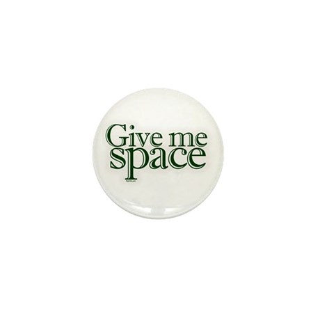 Give me space Mini Button (100 pack)