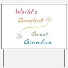 Great Grandma Yard Sign