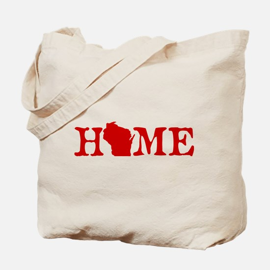 HOME - Wisconsin Tote Bag