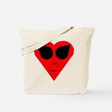 Alien Valentine Tote Bag