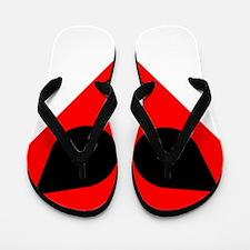 Alien Valentine Flip Flops