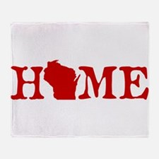 HOME - Wisconsin Throw Blanket