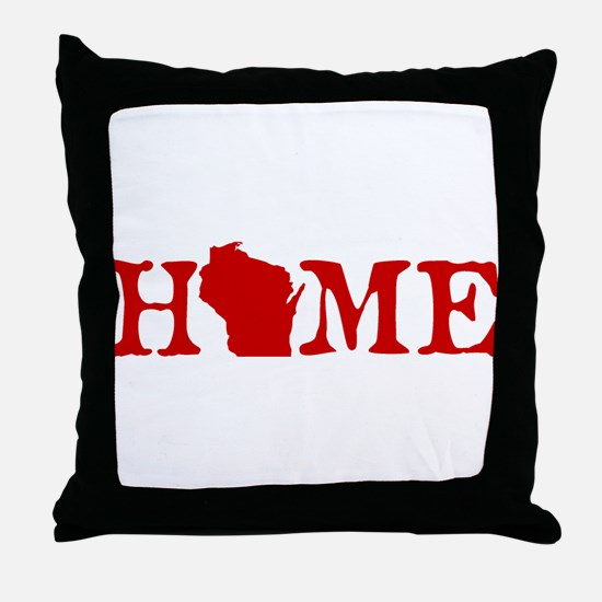 HOME - Wisconsin Throw Pillow