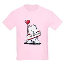 Love Always Westie T-Shirt