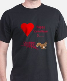 Valentine Squirrel T-Shirt