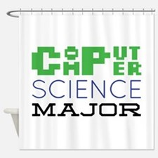 Computer Science Major Shower Curtain