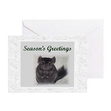 Chinchilla Christmas Cards (Pk of 10