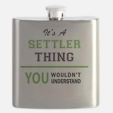 Unique Settlers Flask