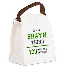Cute Shayne Canvas Lunch Bag