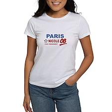Paris and Nicole for presiden Tee