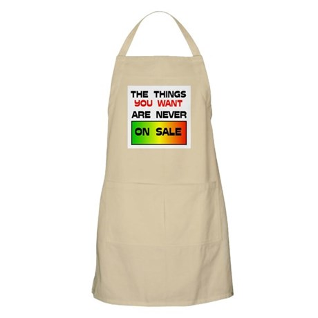 NEVER ON SALE BBQ Apron