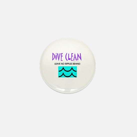 Dive Clean Mini Button