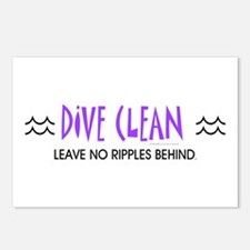 Dive Clean Postcards (Package of 8)