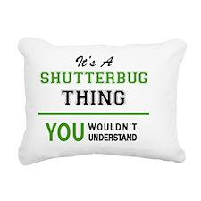 Cute Shutterbugs Rectangular Canvas Pillow