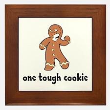 One Tough Cookie Framed Tile