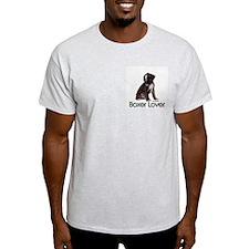 Boxer Puppy Dog Ash Grey T-Shirt