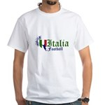 Italia Football White T-shirt