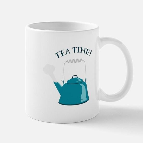 Tea Kettle Time Mugs