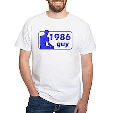 1986 White T-shirt