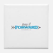 Cute Pay forward Tile Coaster