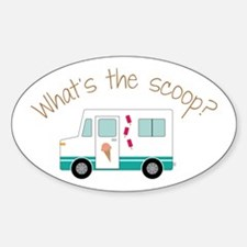 What's The Scoope? Decal