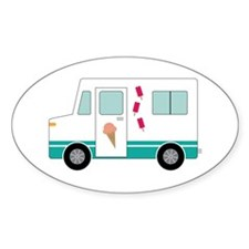 Ice Cream Truck Decal