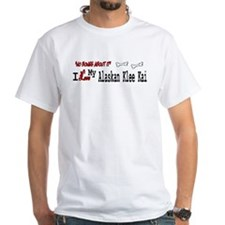 Alaskan Klee Kai White T-shirt