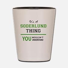 Unique Soderlund Shot Glass