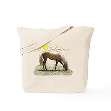 I Luv Palominos Tote Bag