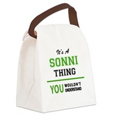 Funny Sonny Canvas Lunch Bag