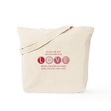 Bottle Cap Love Tote Bag