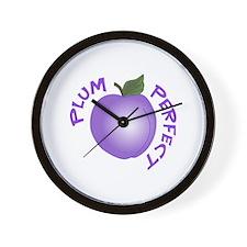 PLUM PERFECT Wall Clock