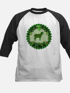 Green Sheep 2 Kids Baseball Jersey