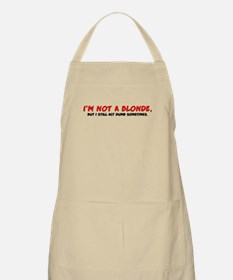 Not a Blonde BBQ Apron
