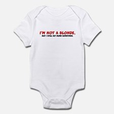 Not a Blonde Infant Bodysuit