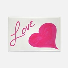 Love in Ink Rectangle Magnet